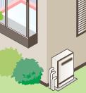 屋外据置浴槽1つ穴タイプ