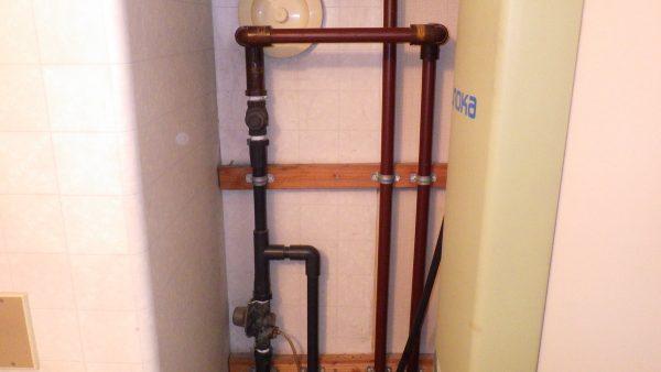 電気温水器の取替え工事