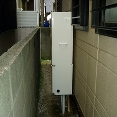 大阪府豊中市 ガス暖房付ふろ給湯器取替え工事サムネイル