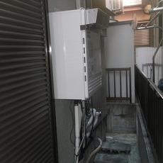 大阪府豊中市 ガスふろ給湯器取替え工事サムネイル