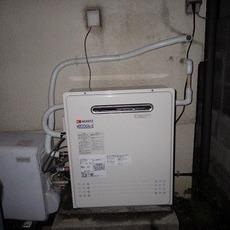 兵庫県神戸市 ガスふろ給湯器取替え工事サムネイル