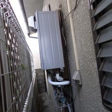 兵庫県西宮市 O様邸 ガス給湯器 取替え工事サムネイル