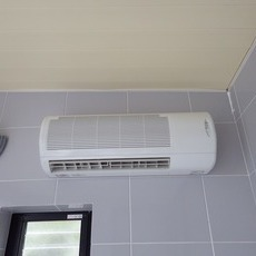 兵庫県宝塚市 浴室暖房乾燥機、熱源機取付工事サムネイル