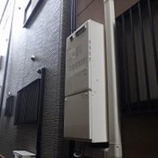 大阪府摂津市 暖房付きガスふろ給湯器取替工事 GQH-2443AWX3H-DX BLサムネイル
