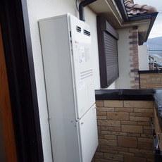 兵庫県川西市 暖房付きガスふろ給湯器取替工事 GTH-2444AWX3H-1 BLサムネイル