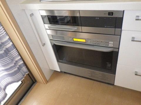 兵庫県川西市 ビルトイン電気オーブン取替工事 NE-DB701Pサムネイル