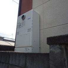 大阪府泉大津市 暖房付きガスふろ給湯器取替工事 GTH-C2450SAW3H BLサムネイル