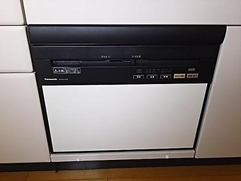 兵庫県神戸市 食器洗い乾燥機取替工事 NP-P60V1PKPKサムネイル