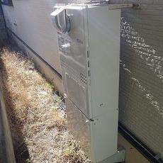 大阪府箕面市 暖房付きガスふろ給湯器取替工事 GTH-C2450SAW3H BLサムネイル