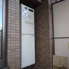 大阪府箕面市 ガス給湯器取替工事 135-H740サムネイル
