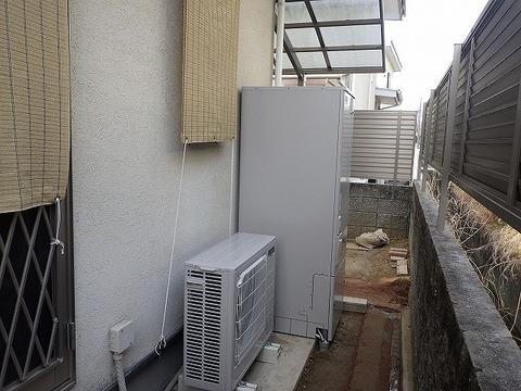 奈良県奈良市 エコキュート取替工事 SRT-C372サムネイル