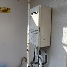 大阪府箕面市 ガス給湯器取替工事 GQ-C2434WSサムネイル