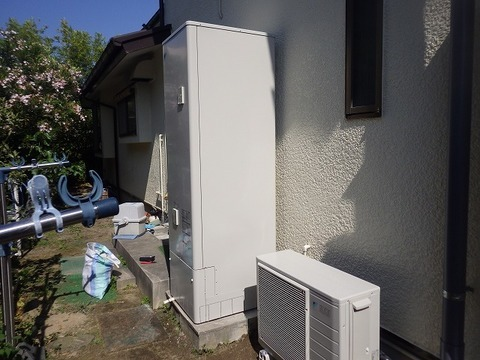 兵庫県芦屋市 エコキュート 取替工事 EQN46TFVサムネイル