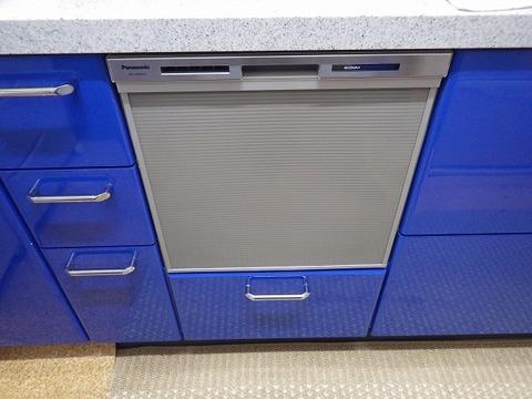 大阪府箕面市 食器洗い乾燥機取替工事 NP-45MS7Sサムネイル